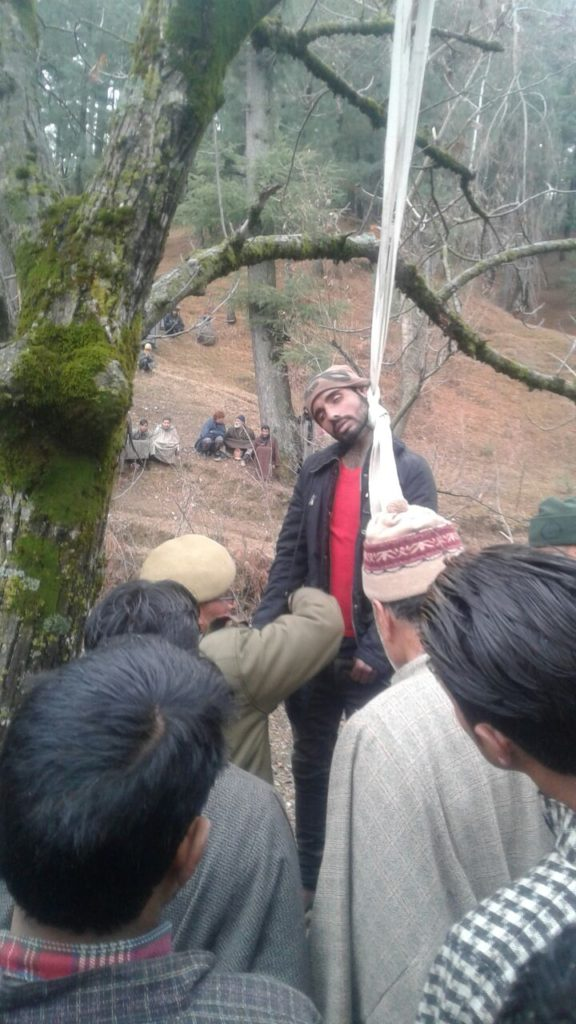 Dead Body Found Hanging In Kupwara Forests